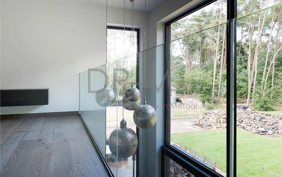 Balustrade in Glas